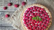 Tarta malinowo-miętowa