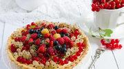 Tarta tutti frutti z pianką ajerkoniakową