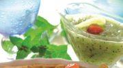 Tarta z sosem kiwi
