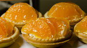 Tartaletki waniliowe z mandarynkami