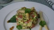 Tartar z warzyw i tiramisu Luci