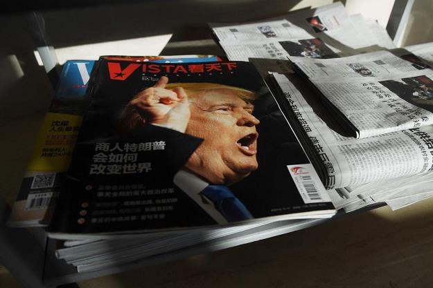 Taryfy nałożone przez Trumpa na Chiny mają być karą /AFP