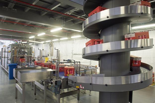 Taśma produkcyjna w nowo otwartej fabryce chipsów Pringles w Kutnie /PAP