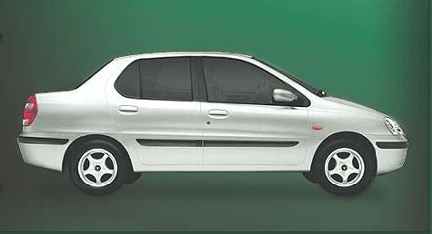 Tata Indigo - sedan (kliknij) /INTERIA.PL