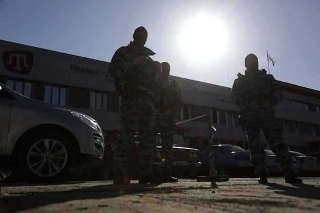 Tatarów zablokowały oddziały specjalne rosyjskiej milicji (zdjęcie ilustracyjne) /AFP