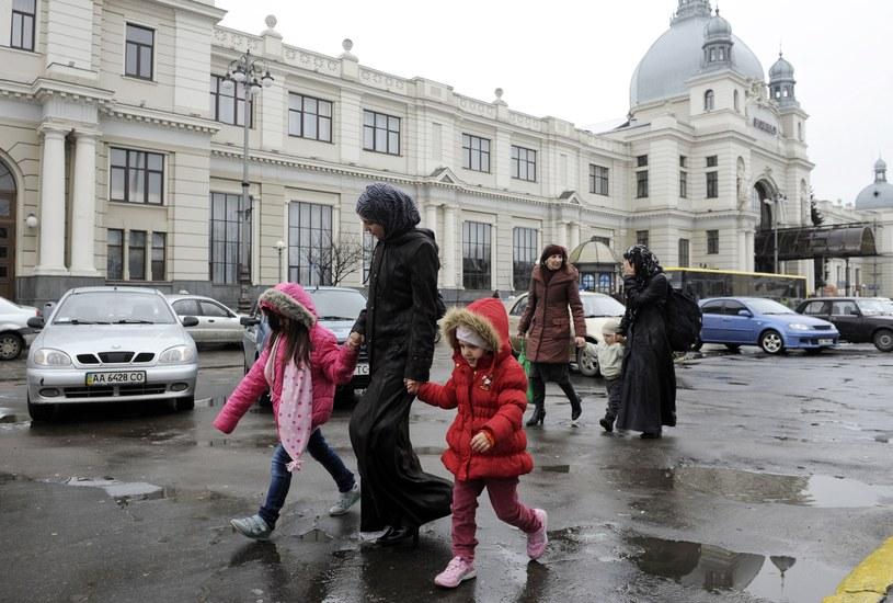 Tatarscy uchodźcy z Krymu /AFP