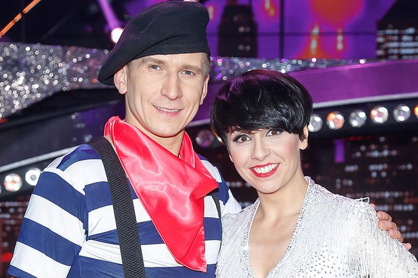 Tatiana Okupnik i jej parter taneczny Tomek Barański /AKPA