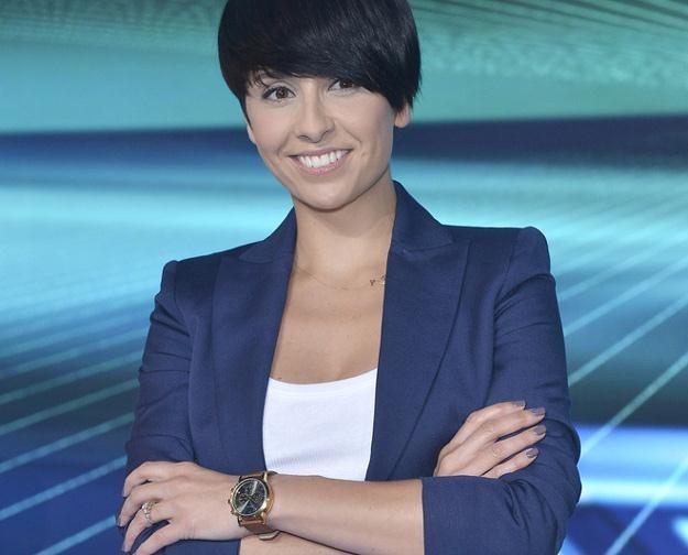 """Tatiana Okupnik podczas prezentacji finalistów """"X Factor"""" /AKPA"""