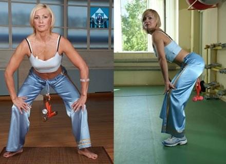 Tatiata Kozhevnikova na zdjęciach ze swojej strony internetowej. Fot.: intimfitness.ru /Internet