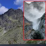 Tatry. Kamienna lawina zeszła nieopodal Morskiego Oka. To potencjalnie niebezpieczne zjawisko
