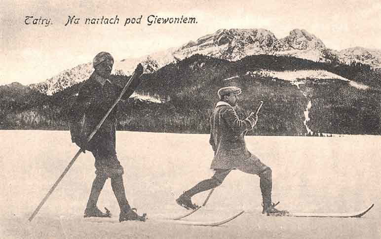 Tatry. Na nartach pod Giewontem, Wydawnictwo Sztuka, 1918 /materiały prasowe