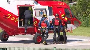 Tatry: Tragedia na Rysach. Turysta spadł 400 metrów