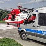 Tatry: Turysta upił się na szlaku. Wysłano helikopter