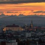 """Tatry widoczne z Krakowa. To zdjęcie to """"dzisiejsza petarda"""""""