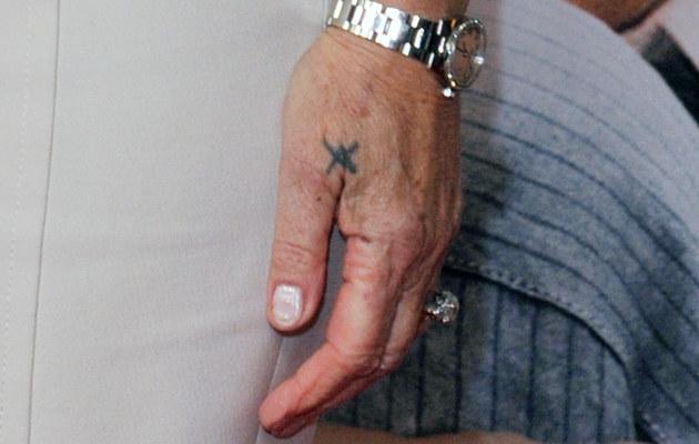 Tatuaż Helen Mirren  /Splashnews