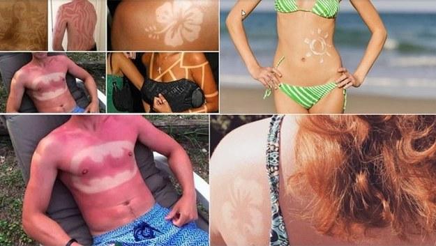 Tatuaż Słońcem Wypalony Nowy Niebezpieczny Trend Wśród
