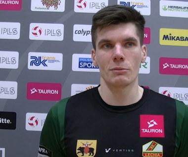 TAURON 1. Liga. Bartłomiej Janus komentuje wygraną z BAS Białystok . Wideo