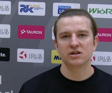 TAURON 1. Liga. Karol Jankiewicz komentuje przegraną z Lechią Tomaszów Mazowiecki. Wideo