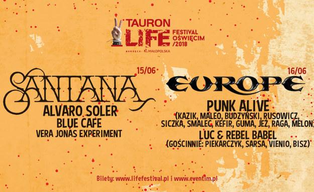 Tauron Life Festiwal Oświęcim /materiały prasowe /