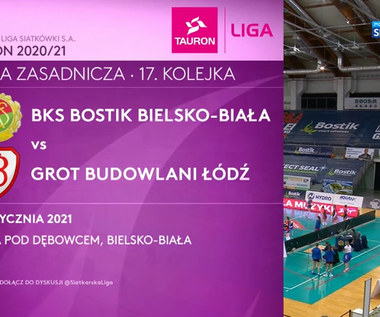 TAURON Liga. BKS BOSTIK Bielsko-Biała - Grot Budowlani Łódź 2-3. Skrót meczu (POLSAT SPORT). Wideo