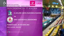 TAURON Liga. E.LECLERC MOYA Radomka Radom - DPD Legionovia 3-1. Skrót meczu (POLSAT SPORT). Wideo