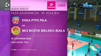 Tauron Liga. Enea PTPS Piła - BKS Bostik Bielsko-Biała 2:3. Skrót meczu (Polsat Sport). wideo