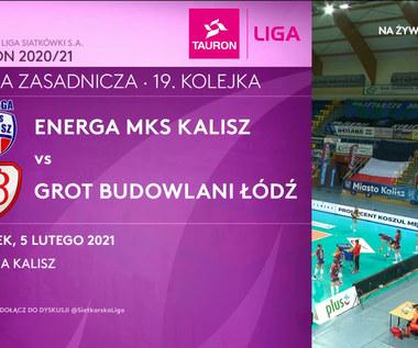TAURON Liga. Energa MKS Kalisz - Grot Budowlani Łódź 3-1. Skrót meczu (POLSAT SPORT). Wideo