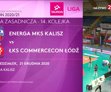TAURON Liga. Energa MKS Kalisz - ŁKS Commercecon Łódź 0-3. Skrót meczu (POLSAT SPORT). wideo