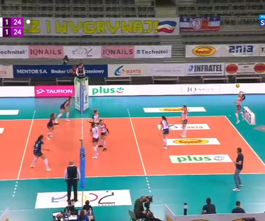 TAURON Liga. Grot Budowlani Łódź - BKS Bostik Bielsko-Biała 1:3. Skrót meczu (POLSAT SPORT). Wideo