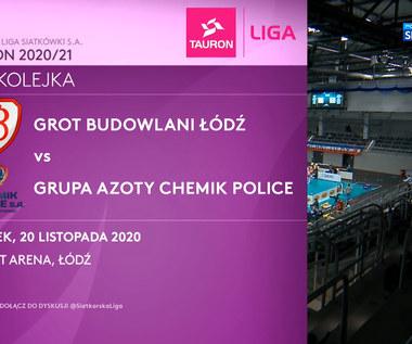 Tauron Liga. Grot Budowlani Łódź – Grupa Azoty Chemik Police 3:1 - skrót (POLSAT SPORT). WIDEO
