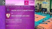 TAURON Liga. Grupa Azoty Chemik Police - Grot Budowlani Łódź 3:0. Skrót meczu (POLSAT SPORT). Wideo