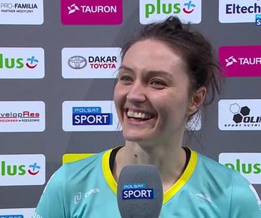 Tauron Liga. Jelena Blagojevic: W pewnym momencie musiałyśmy się uspokoić (POLSAT SPORT). Wideo