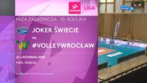 TAURON Liga. Joker Świecie - #VolleyWrocław 2:3 (POLSAT SPORT). WIDEO