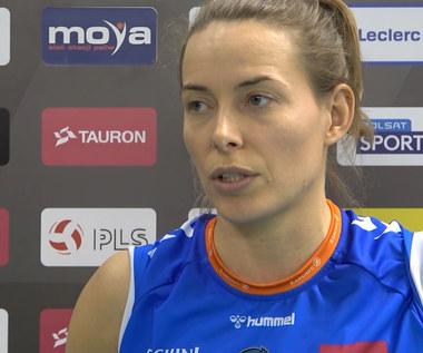TAURON Liga. Katarzyna Skorupa (E.LECLERC MOYA) po meczu z ŁKS Commercecon. wideo