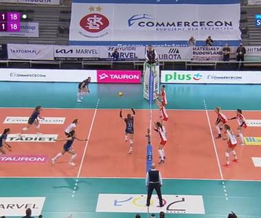 Tauron Liga: ŁKS Commercecon Łódź - BKS Bostik Bielsko-Biała 3:1. Skrót meczu (POLSAT SPORT). Wideo