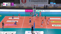 TAURON Liga: ŁKS Commercecon Łódź - E.LECLERC MOYA Radomka Radom 3:0. Skrót meczu (POLSAT SPORT). Wideo