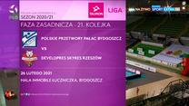TAURON Liga. Polskie Przetwory Pałac Bydgoszcz - Developres SkyRes Rzeszów 2:3. Skrót meczu (POLSAT SPORT). Wideo