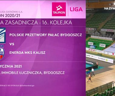 TAURON Liga. Polskie Przetwory Pałac Bydgoszcz - Energa MKS Kalisz 3-0. Skrót meczu (POLSAT SPORT). Wideo