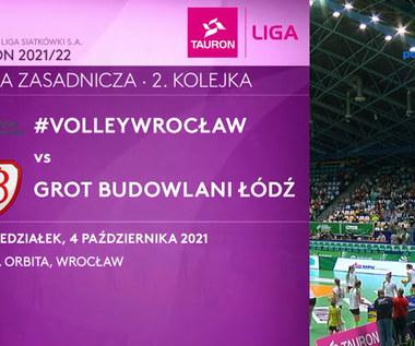 Tauron Liga. #Volley Wrocław - Grot Budowlani Łódź 3-2. WIDEO