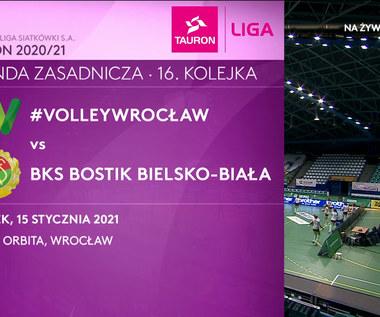 TAURON Liga. #VolleyWrocław – BKS Bostik Bielsko-Biała 0-3. Skrót meczu (POLSAT SPORT). Wideo