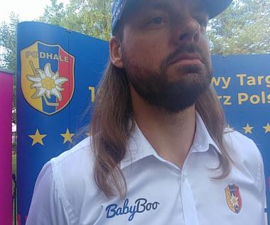 Tauron Podhale. Przemysław Odrobny o sezonie 2020/2021. Wideo