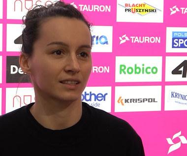 TAURON Puchar Polski Kobiet. Krystyna Strasz przed meczem z Grupą Azoty. Wideo