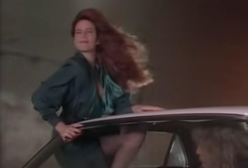 Tawny Kitaen w teledysku Whitesnake - Here I Go Again '87, Youtube /materiał zewnętrzny
