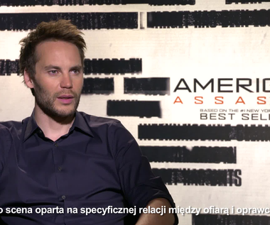 """Taylor Kitsch o filmie """"American Assassin"""""""