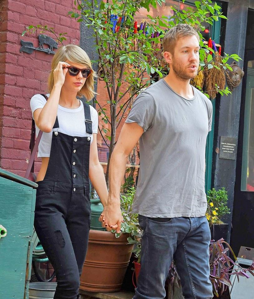 Taylor Swift i Calvin Harris /Splash News /East News