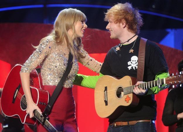"""Taylor Swift i Ed Sheeran: """"Następnym razem będzie lepiej"""" fot. Jamie McCarthy /Getty Images/Flash Press Media"""