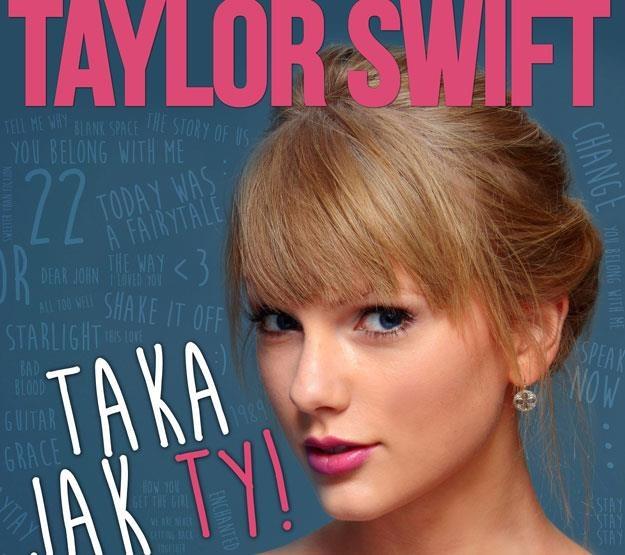 Taylor Swift na okładce książki /