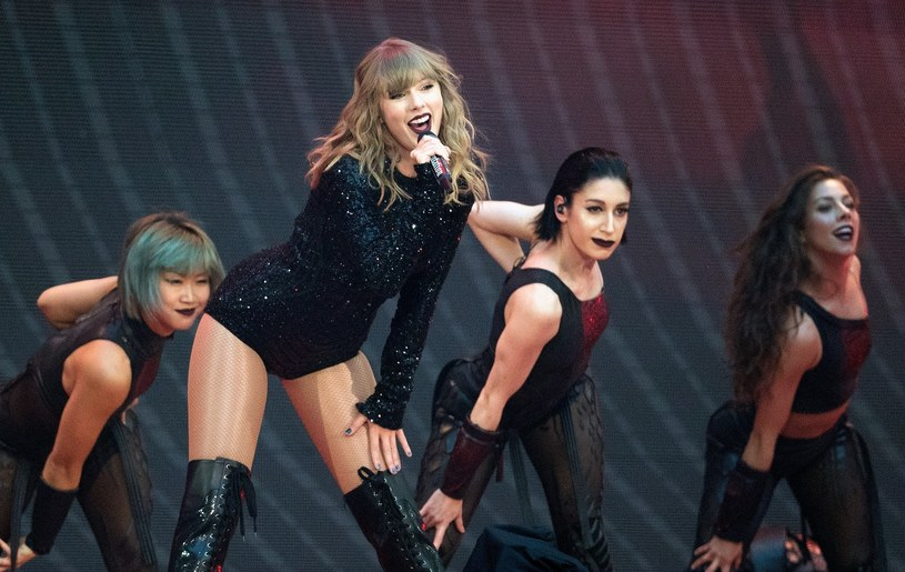 Taylor Swift na scenie /Action Press/ Matrix Media Group/face to face /Reporter