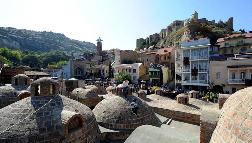 Tbilisi – stolica i największe miasto Gruzji /VANO SHLAMOV /AFP