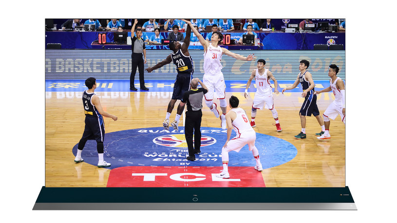 TCL 8K QLED TV - FIBA Basketball World Cup 2019 Edition /materiały prasowe